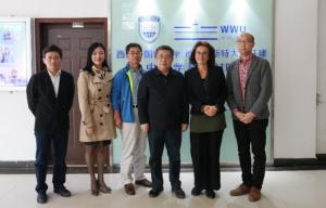 GIP-Empfang in Xian: Parteisekretär Deng Zhihui trifft Münsteraner Professorin Dr. Susanne Günthner