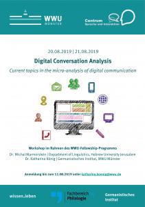 Workshop Digital Conversation Analysis